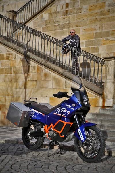 KTM 990 Adventure & Jarda Šíma